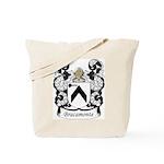 Bracamonte Family Crest Tote Bag