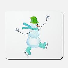Snowman 4 Mousepad