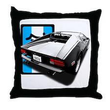 Pantera Rear Throw Pillow