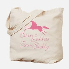 Team Shelly Barn Goddess Tote Bag