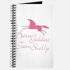 Team Shelly Barn Goddess Journal