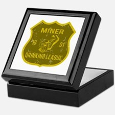 Miner Drinking League Keepsake Box