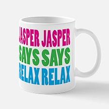 Jasper Says Relax (Color) Mug