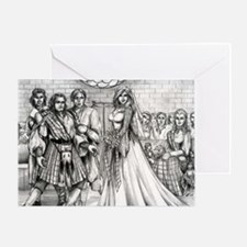 Shotgun wedding Greeting Card