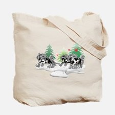 Gypsy Vanner Winter Tote Bag