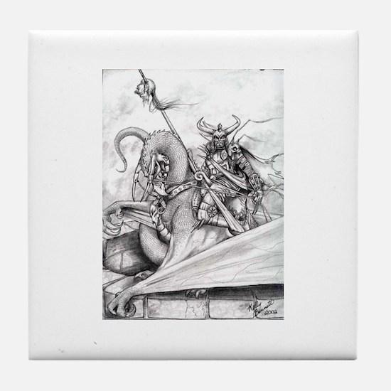 Dark Knight Tile Coaster