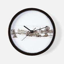 Old Boise, 1936 Wall Clock