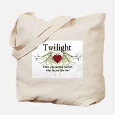 Twilight Live Forever Tote Bag
