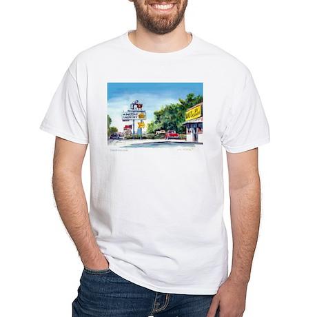 Vista Washer Lady, Vista Aven White T-Shirt