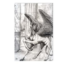 Ahkpet, eyptian demon Postcards (Package of 8)