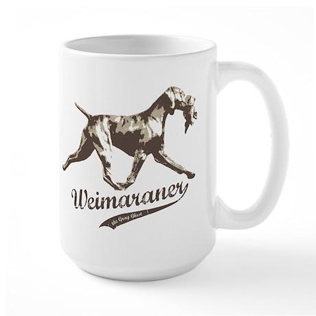 Weimaraner the Gray Ghost - Large Mug