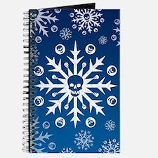 Skullflake (blue) Journal