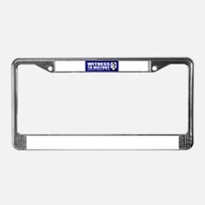 Witness to History! Inaugurat License Plate Frame
