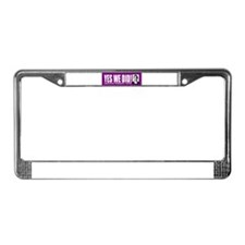 Yes We Did! Inauguration Day License Plate Frame