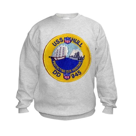USS HULL Kids Sweatshirt