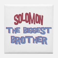 Solomon - The Biggest Brother Tile Coaster