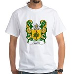 Caceres Family Crest White T-Shirt