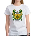 Caceres Family Crest Women's T-Shirt