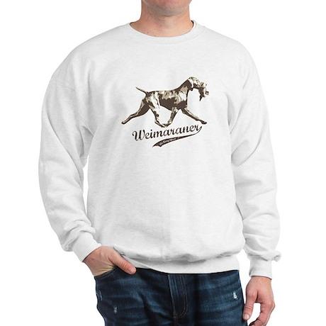 Weimaraner the Gray Ghost Sweatshirt