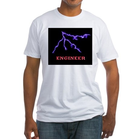 Electrical Engineer Fitted T-Shirt