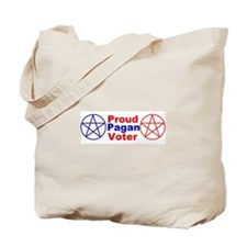 Unique Pagan and proud Tote Bag
