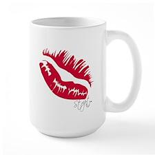 Stript Kiss Mug