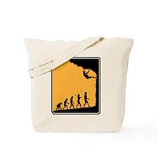 Rock Climber Tote Bag
