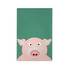 Pig in a Poke Rectangle Magnet