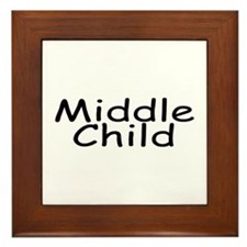 Middle Child Framed Tile
