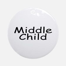 Middle Child Ornament (Round)