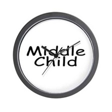 Middle Child Wall Clock