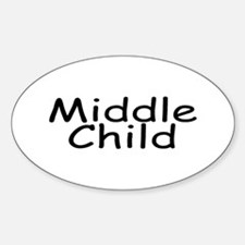 Middle Child Oval Decal