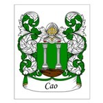Cao Family Crest Small Poster