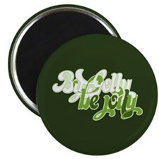 """By Golly Be Jolly 2.25"""" Magnet (10 pack)"""