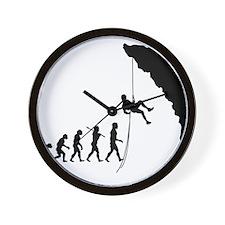 Rock Climber Wall Clock