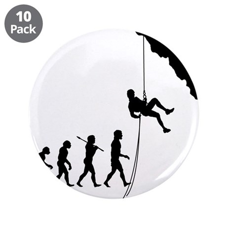 """Rock Climber 3.5"""" Button (10 pack)"""