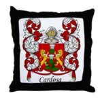 Cardoso Family Crest Throw Pillow