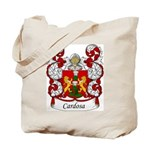 Cardoso Family Crest Tote Bag