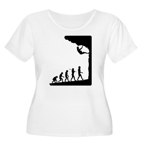 Rock Climber Women's Plus Size Scoop Neck T-Shirt