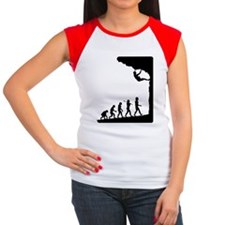 Rock Climber Women's Cap Sleeve T-Shirt