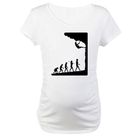 Rock Climber Maternity T-Shirt