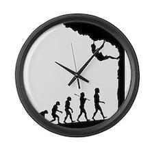 Rock Climber Large Wall Clock