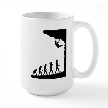 Rock Climber Large Mug