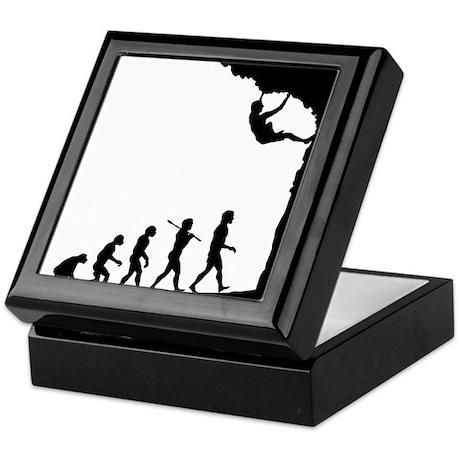 Rock Climber Keepsake Box