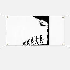 Rock Climber Banner