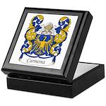 Carmona Family Crest Keepsake Box