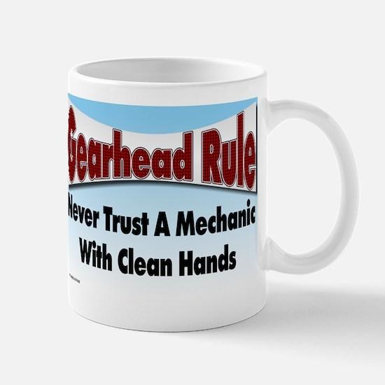Gearhead Rule Mug