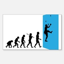 Wall Climber Rectangle Decal