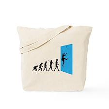 Wall Climber Tote Bag