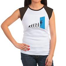 Wall Climber Women's Cap Sleeve T-Shirt